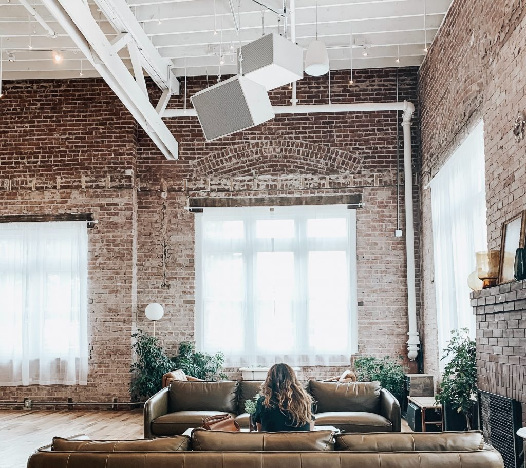 loft apartment converted from a factory building