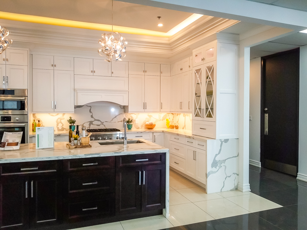 image of a marble kitchen