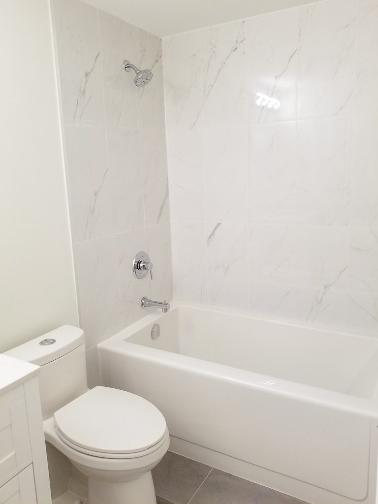 image of a bathroom renovation