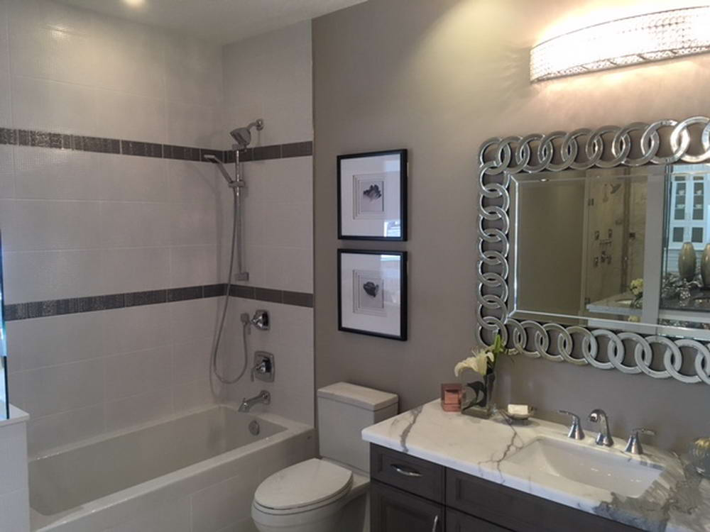 image of a bathroom renovation