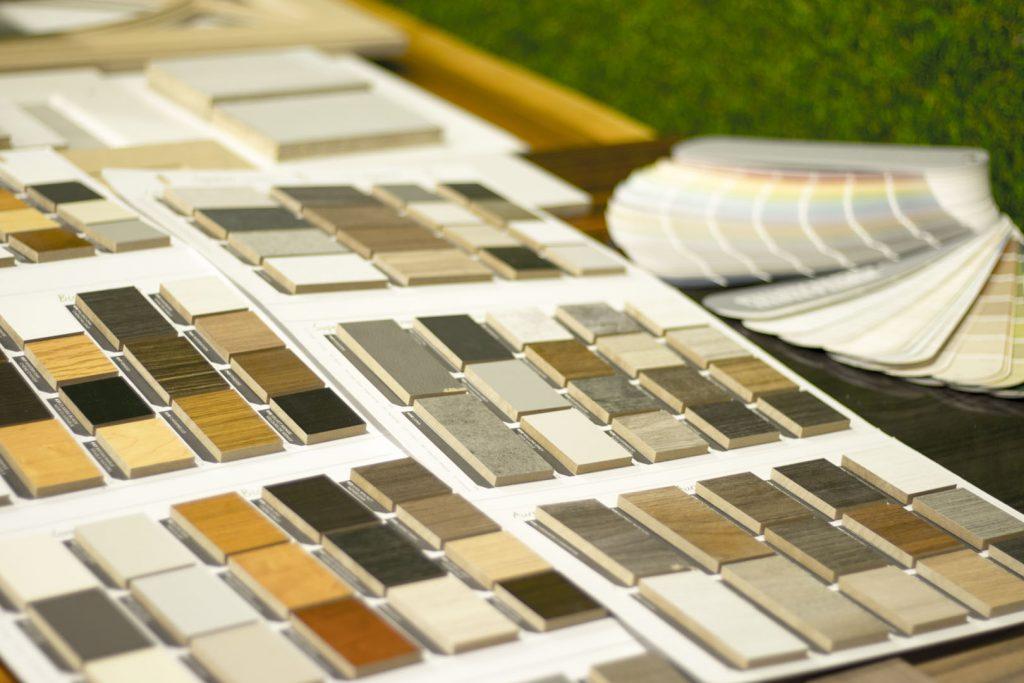 condo finishes design selection options at the moose condo reno showroom
