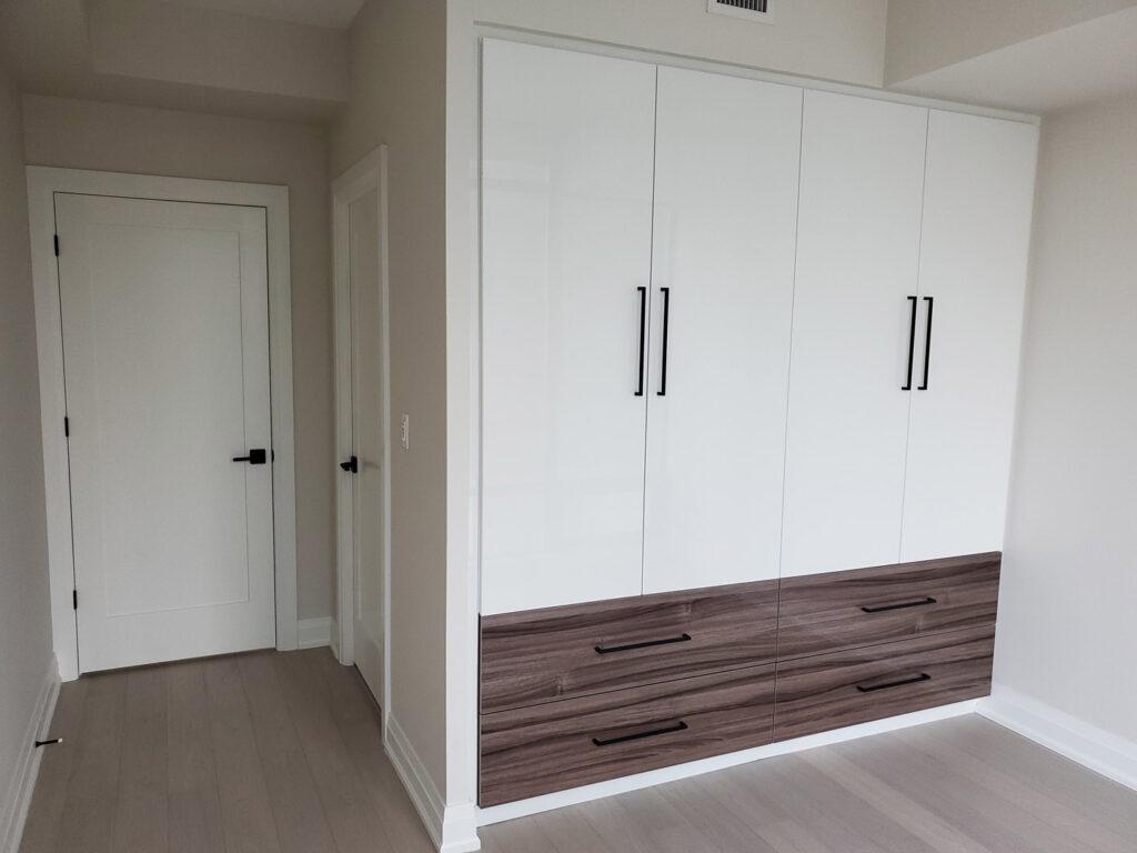 Loft Design Bedroom Remodeling in Condo Apartment