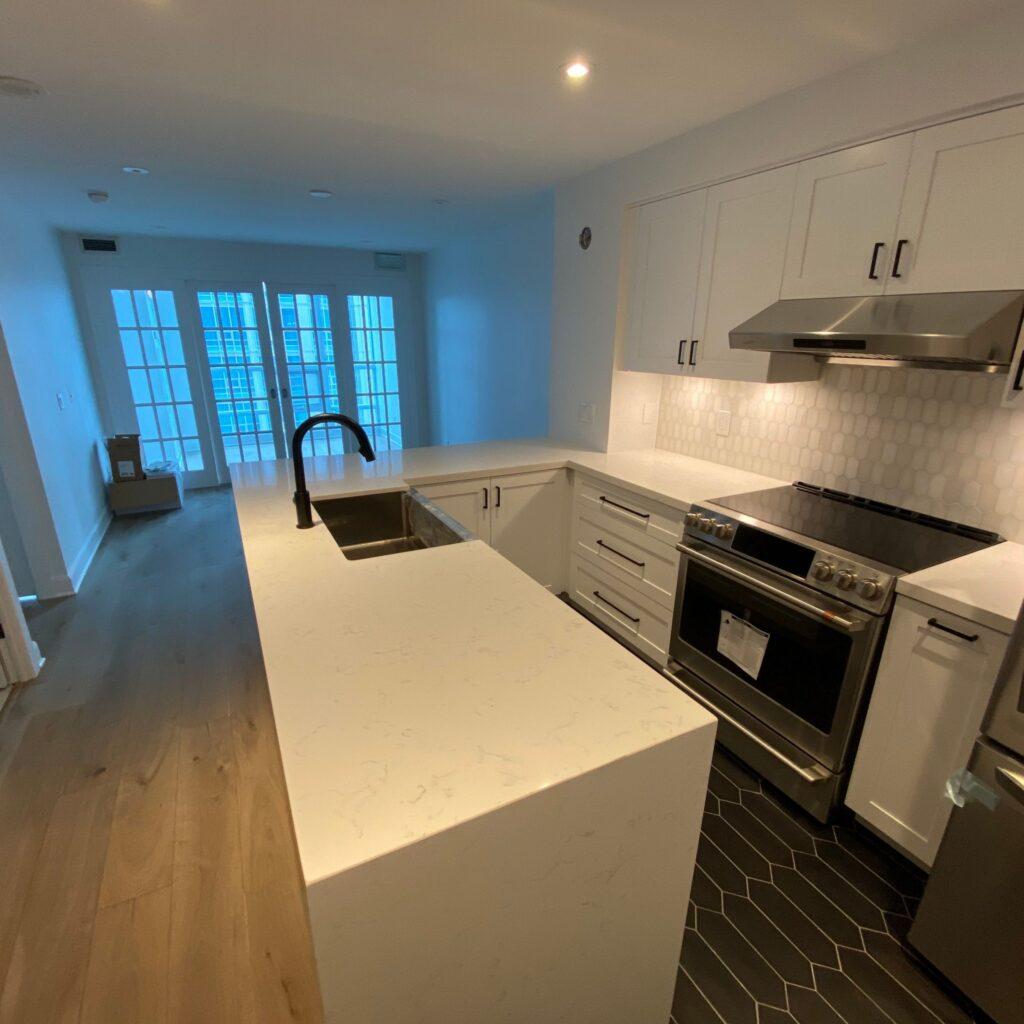 modern condo kitchen renovations toronto