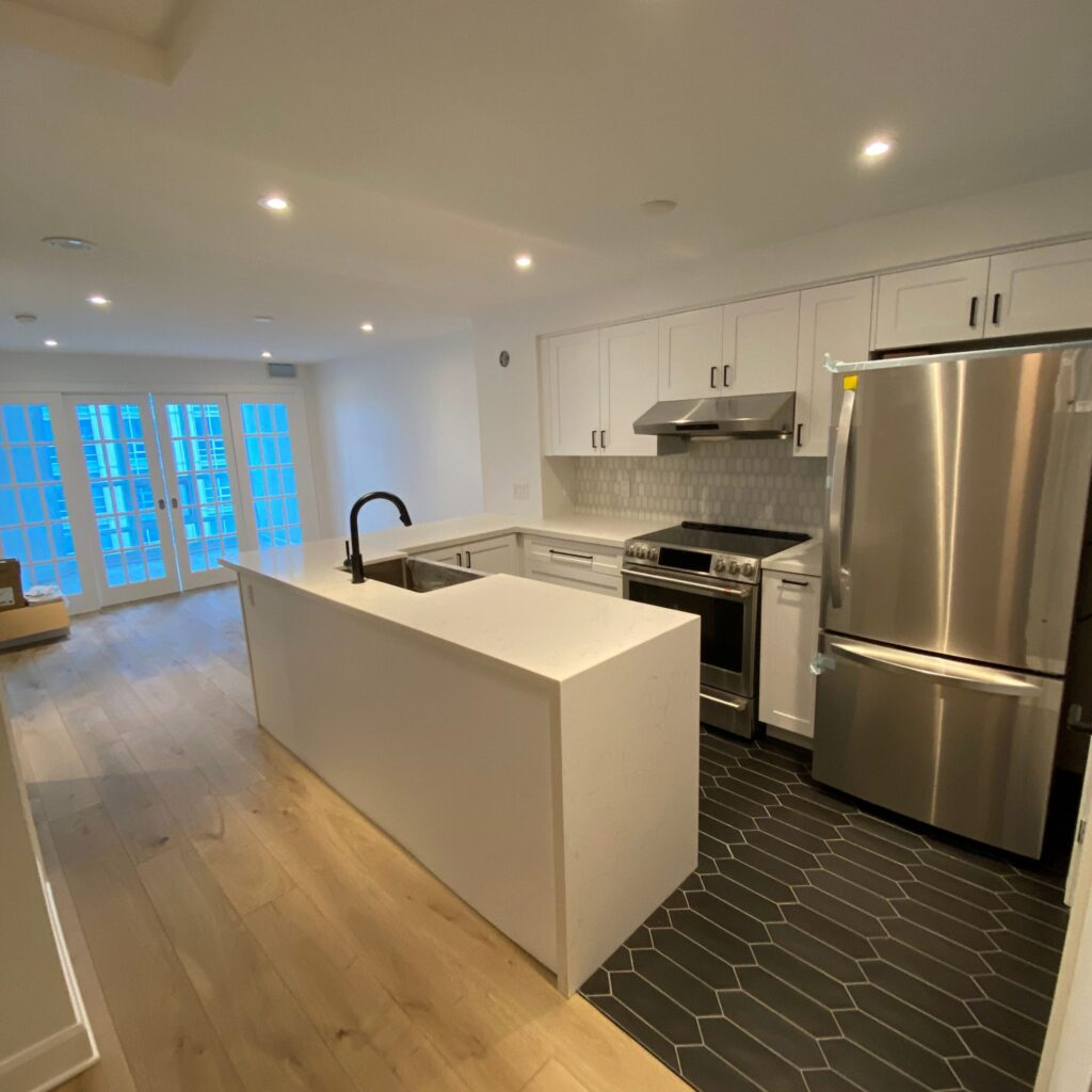 luxury condo kitchen reno toronto