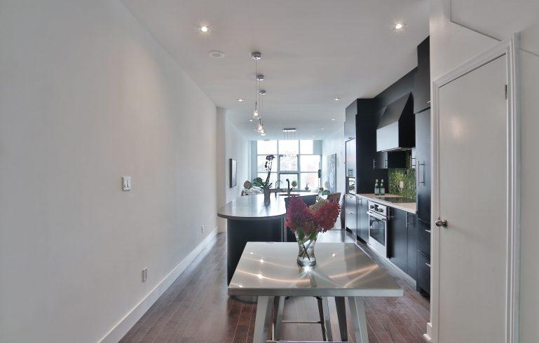 modern condo kitchen - condo kitchen renovations