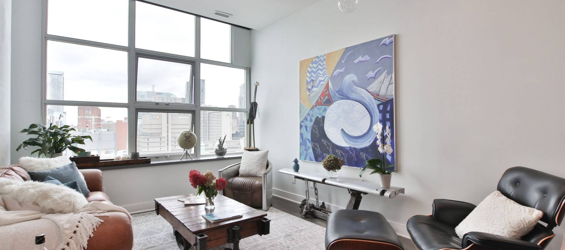 modern condo renovation with floor carpet - condo renovation toronto