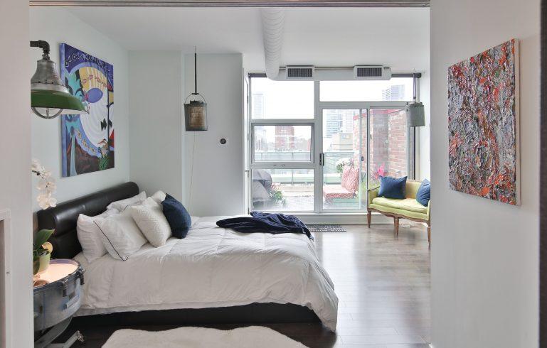 condo bedroom apartment renovation by moose condo reno - condo renovations vaughan