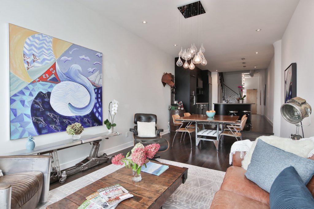 open space condo with amazing family room and kitchen - condo reno ideas