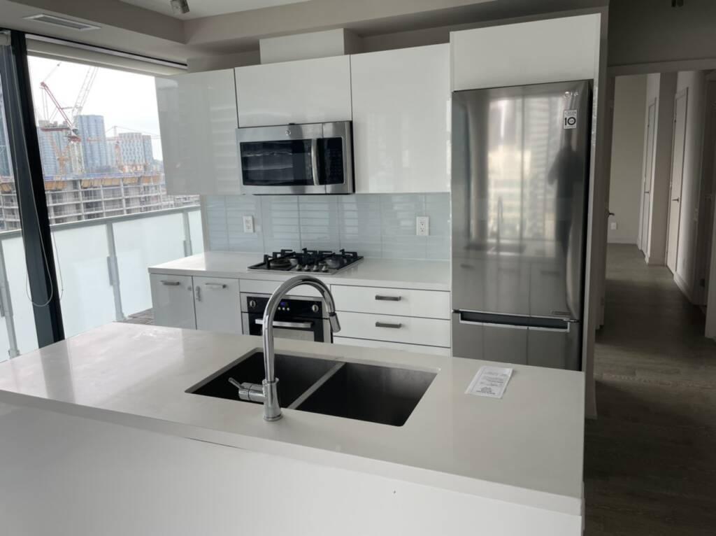 condo kitchen renovation before photo