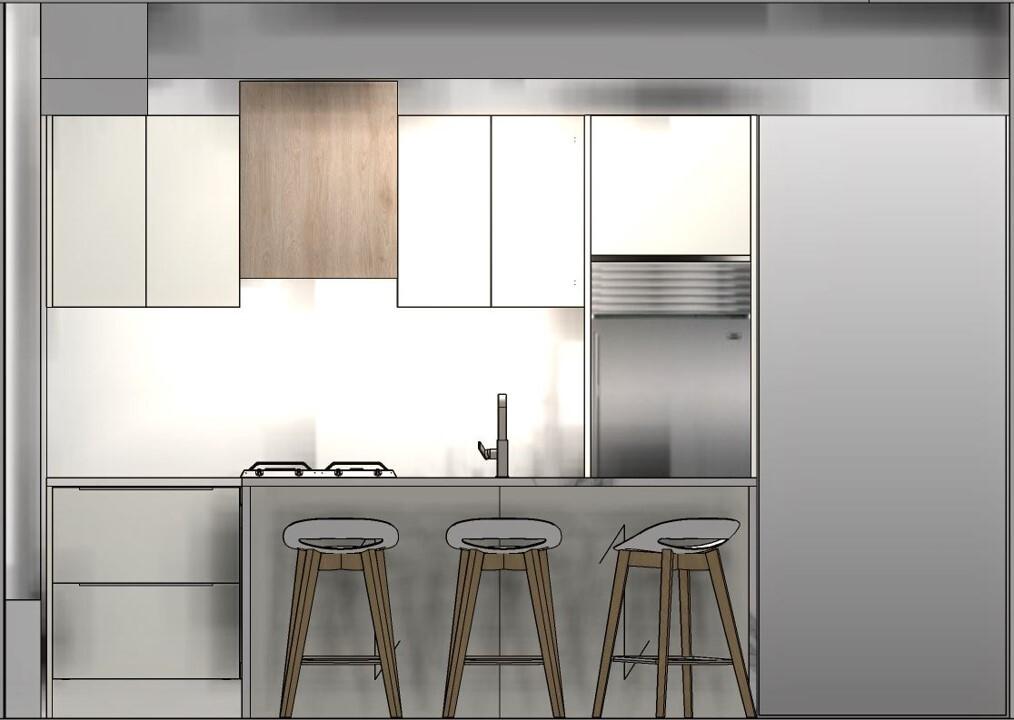 condo kitchen refacing design