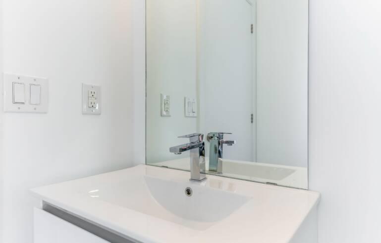 bathroom renovation condo project