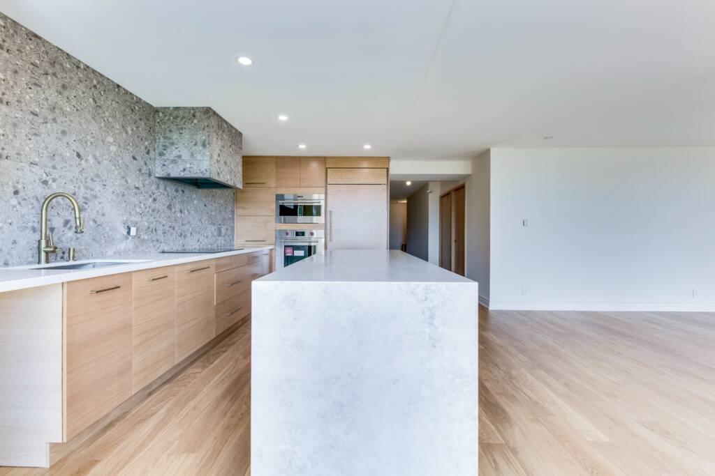 modern condo kitchen renovation